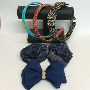 Ladies Bundle headband hair bow clips accessories